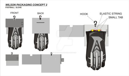 NEW WILSON receiver glove-packaging sketch2 by Prasetyanto