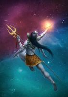 Lord Shiva by SerSpiriT