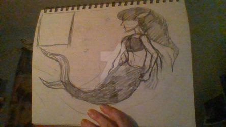 MERMAID sketch daily challenge , DAY 3