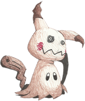 It's Mimikyu! by Cyberguy64