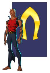 YOUNG JUSTICE: AQUALAD by Jerome-K-Moore