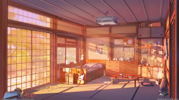 Room sunset version by arsenixc