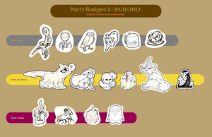 Masquerade Badges by Mythee