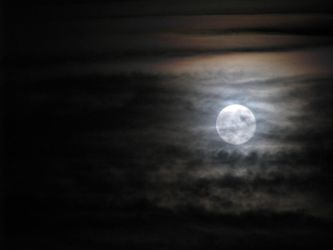 Supermoon II August 29 2015 by zannapic