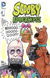 Scooby Doo Vader Sketch Cover by timshinn73