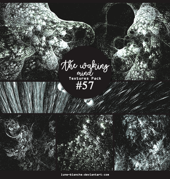 Textures pack #57 - The waking mind by lune-blanche