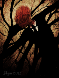 The Slenderman by Alheli-delaGarza