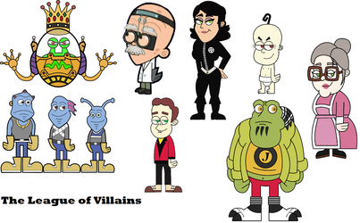 The League of Villains Fairly OddParents Style by dlee1293847