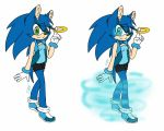Julia the hedgehog new reference by B-Gemini