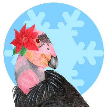 Holiday Gal (2015 Card) by Talonzi