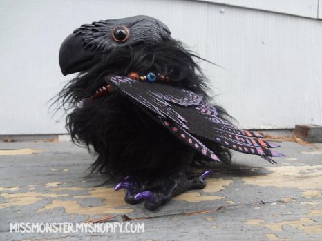 Crux the Raven doll by missmonster
