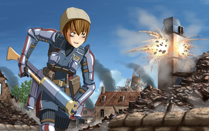 Valkyria Chronicles - Wendy Cheslock by xZDisturbedZx