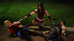 Lady Sif is Tired of Your BS. by moonflower-lights