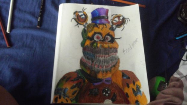 fredbear by Th3Tur3GodMrbl3ach