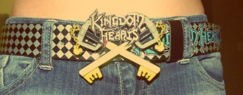 Kingdom Key belt buckle by Lain3y