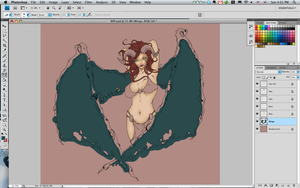 Succubus - In Progress by AliceGraphix