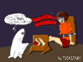velma tickled by ticklegas