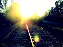 Light in the end of tunel. by NyankoRin