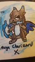 Mega Charizard X  by TheNerdyTrainer