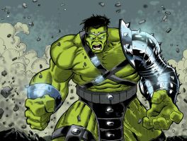 World War Hulk | Colored ver. by EmDee08