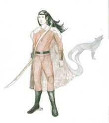 Pen and Paper Roleplaying character by Amalias-dream