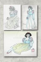 SnowWhiteFigureDrawingSession by Stnk13