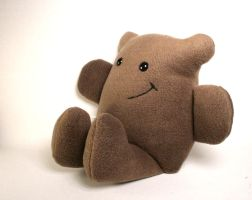 Buster the Chocolate Brown Bear Plushie by Saint-Angel