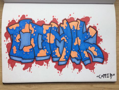 Blackbook piece 2017 *5 by Comik93