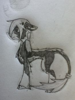 Filly Alabaster 2nd Draft by LupineGamer