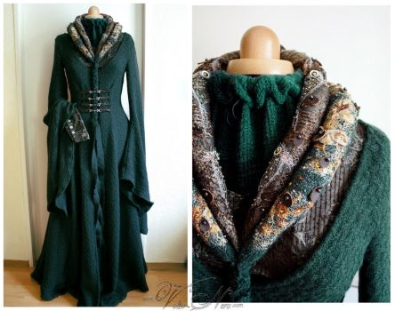 Catelyn Tully Stark costume Game of Thrones by Volto-Nero-Costumes
