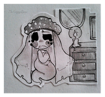 [KG] [Inktober] Day 3: Ghost by TheFroggyQueen