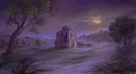 Temple of Pelor by RogerStork