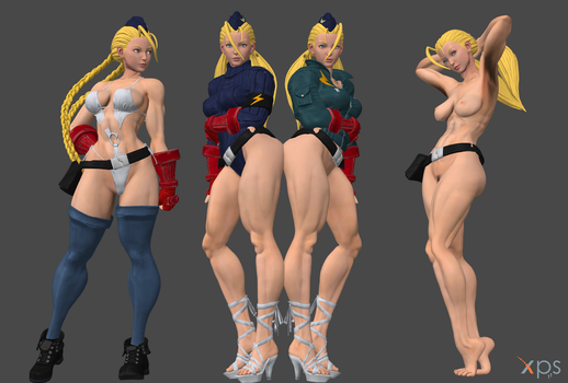 SFV Cammy C9 Doll with Swimsuit FULL by Marcelievsky
