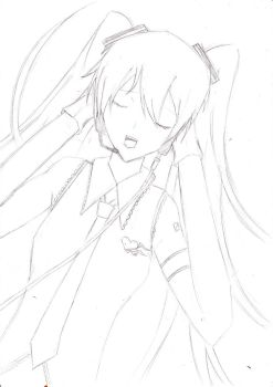 Vocaloid Melt - WIP by The-Plan-B