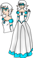 Princess Gown: Lyndsay by FearMyPiplup