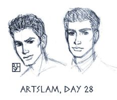 Artslam: Muse Day 28 by KabochaN