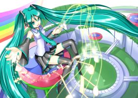 Hatsune Miku - Packaged by crazypencheng