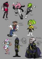 characters by TheKKM