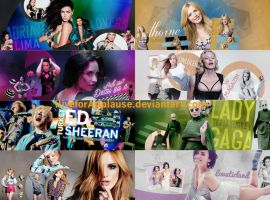HEADER PACK Part 2 by iliveforApplause by iliveforApplause