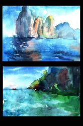 Seascapes by AstaQte