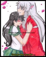 . Loves me not . InuKag by aidmoon
