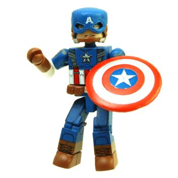 Captain America (The Winter Soldier) Minimate by arielassault