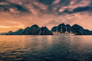 Halong Bay, Vietnam by Stefan-Becker