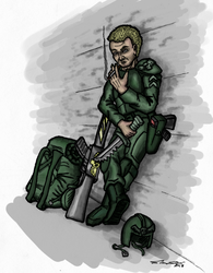 Imperial Sergeant McCallum, Colored by Cymoth