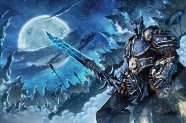 Warcraft Lich King Cover by Tonywash