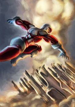 Captain Canuck by cric