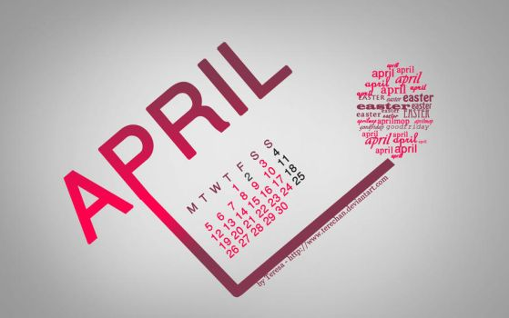 April Wallpaper by terechan