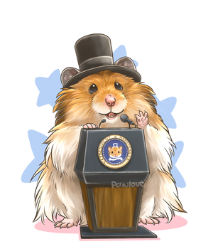 Com: Abrahamster Lincoln by Pawlove-Arts