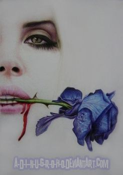 blue velvet Lana Del Rey by im-sorry-thx-all-bye