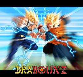 dbz fake let's fight by DrabounZ
